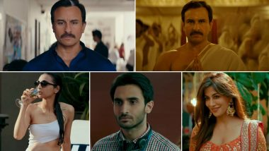 Baazaar Trailer: A Grey-Shaded Saif Ali Khan, Rohan Mehra's Confident Debut and Radhika Apte's Sizzling Swimsuit Avatar Catch Our Eye In This Thrilling Promo - Watch Video