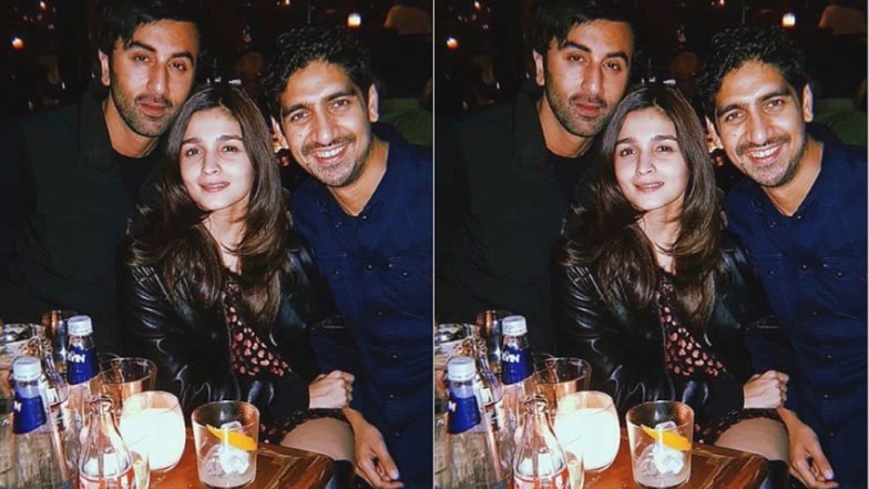 Alia Bhatt and Ranbir Kapoor Put On Their Party Shoes As They Shoot for Brahmastra – View Pic