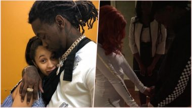 Cardi B & Offset Completes 1 Year of Marriage! Rapping Diva Shares First Photo From Their Secret Wedding