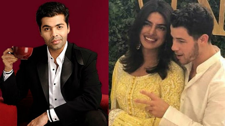 Karan Johar Just Made a Comment About Priyanka Chopra and Nick Jonas' 10-year Age Gap and You Simply Cannot Afford to Miss It!