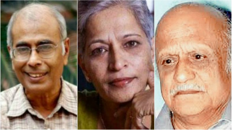 Same Group of Right-wing Activists Behind Killings of Narendra Dabholkar, M M Kalburgi, Gauri Lankesh: Official
