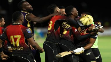 CPL 2018: Colin Munro & Khary Pierre's Heroics Help Trinbago Knight Riders Clinch the Title for the Second Time
