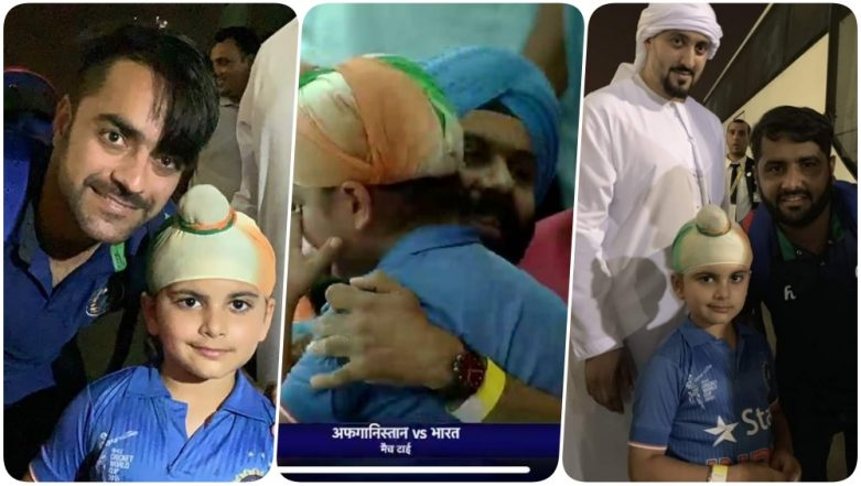 Rashid Khan & Mohammad Shahzad Console the Crying Indian Kid After India vs Afghanistan, Asia Cup 2018, Super Four Match! (See Pics)