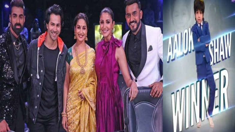 Dance Deewane Grand Finale, 15th September 2018: Aalok Shaw is Declared as the Winner of The Show