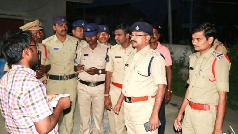 Telangana: Man Hacked to Death in Nalgonda District in Front of Pregnant Wife, Murder Caught on CCTV
