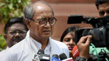 Lok Sabha Elections 2019: Congress Leader Digvijay Singh Skips Voting in Rajgarh for Tracking Phase 6 Polling in Bhopal