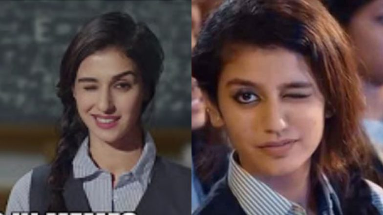 Disha Patani Recreates Priya Varrier's Iconic Wink for a New Ad and We Can't Stop Crushing Over It – Watch Video