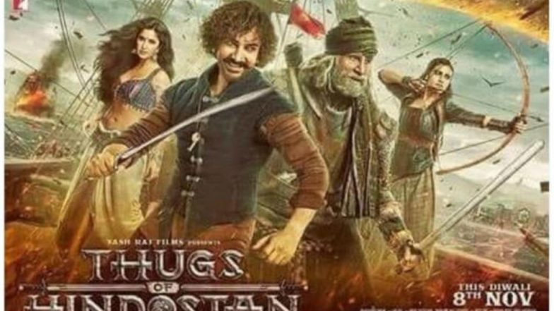 Aamir Khan, Fatima Sana Shaikh, Katrina Kaif and Amitabh Bachchan's Thugs of Hindostan First Official Movie Poster Out - See Pic