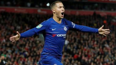 Eden Hazard Goal Video Is Going Viral for His Terrific Show As Chelsea Beat Liverpool 2–1 in EFL Cup
