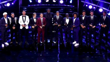 FIFA World Team of the Year 2018: Cristiano Ronaldo, Luka Modric, Kylian Mbappe Among Others in the Star Studded Team (See Pics)