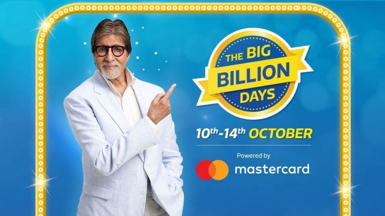 Flipkart's 'The Big Billion Days' Sale Dates Announced; Discounts & Offers on Smartphones, Fashion, Appliances, Electronics & More