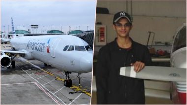 Florida Student Nishal Sankat Attempts to Steal American Airlines Jet From Melbourne International Airport! Landed in Jail
