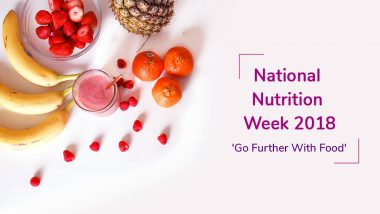 National Nutrition Week 2018: Here's What Indian Nutritionists and Dietitians Have to Tell You about Health, Nutrition and  Weight Loss