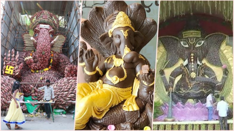 Ganesh Chaturthi 2018 Goes Green: From Chocolate to Ganesha With Banana Flowers, These Eco-Friendly Ganpati Idols Are a Treat to Devotees