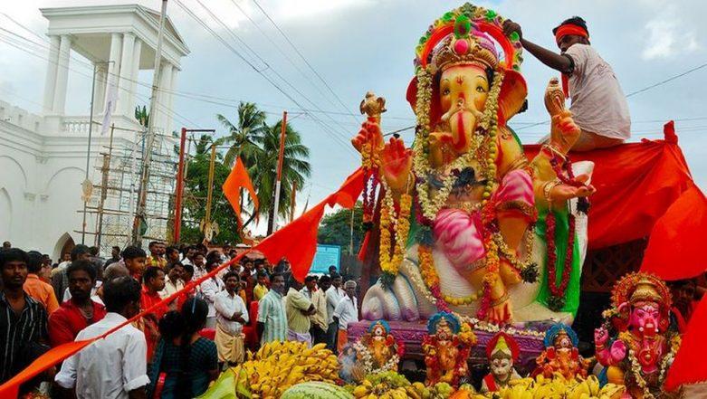 Ganeshotsav 2019: Ban on Bursting Firecrackers at Public Places in Hyderabad During Ganesh Chaturthi