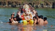 Ganeshotsav 2020: BMC Denies Social Media Reports of Prohibiting Ganpati Immersion in Sea, Clarifies That It Has Not Issued Any Such Order