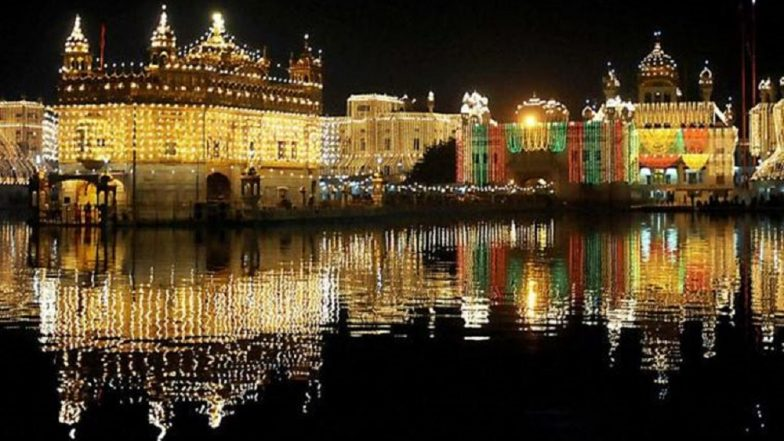 Guru Granth Sahib's 'First Parkash Purab': Golden Temple Illuminated With Lights; Watch Video
