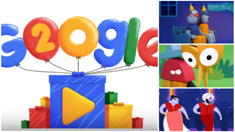 Google Turns 20 Today And Mark Its 20th Anniversary With A Doodle