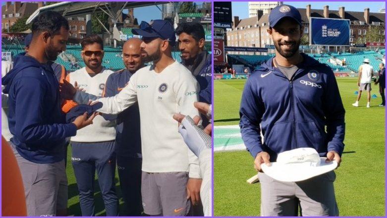 Hanuma Vihari Handed Test Cap by Virat Kohli, Middle Order Batsman Becomes 292nd Player to Represent Team India in Test Cricket