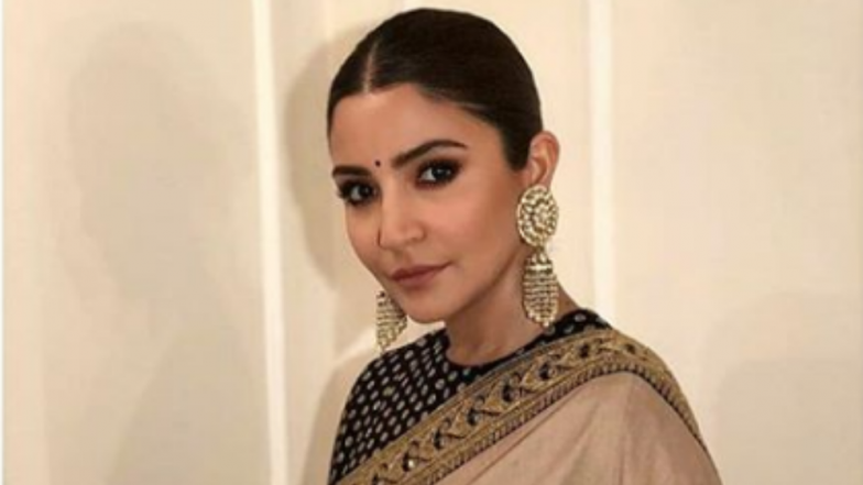 Anushka Sharma Redefines The Term Classy With This Sabyasachi Saree! View Full Pic