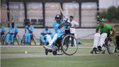 Before India vs Pakistan Asia Cup 2018 Clash, Indian Wheelchair Cricket Team Thrashes Pakistan by 89 Runs in Friendship Cup in UAE