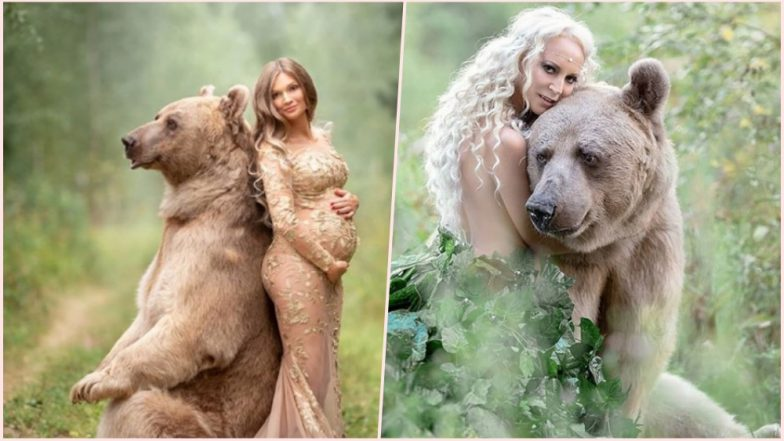 Instagram Bear Stepan Poses With Beautiful Women! Viral Pictures Are Un-Bear-Bly Cute