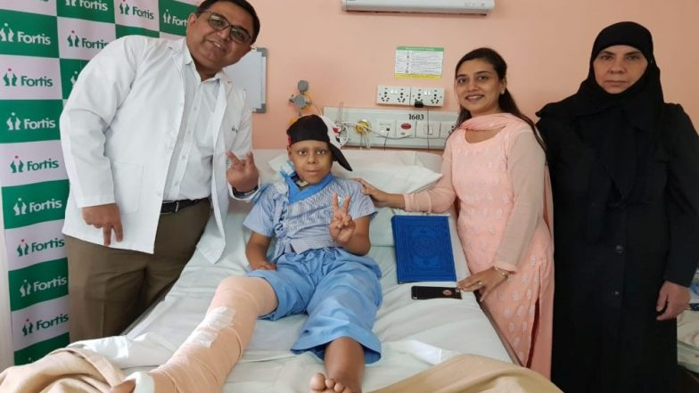 8-Year-Old Iraqi Boy Becomes the Youngest International Cancer Patient in India to Undergo Extracorporeal Radiation Therapy & Re-Implantation