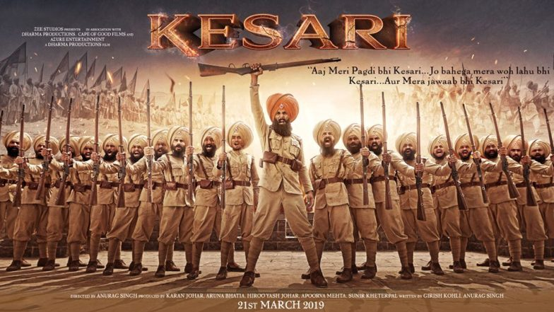 Kesari First Posters Out! Akshay Kumar's War Cry Will Fill You With Pride – View Pics