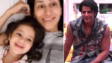 Bigg Boss 12: Karanvir Bohra's Munchkin Daughter Vienna Misses Her Dad and It'll Melt Your Heart – Watch Video