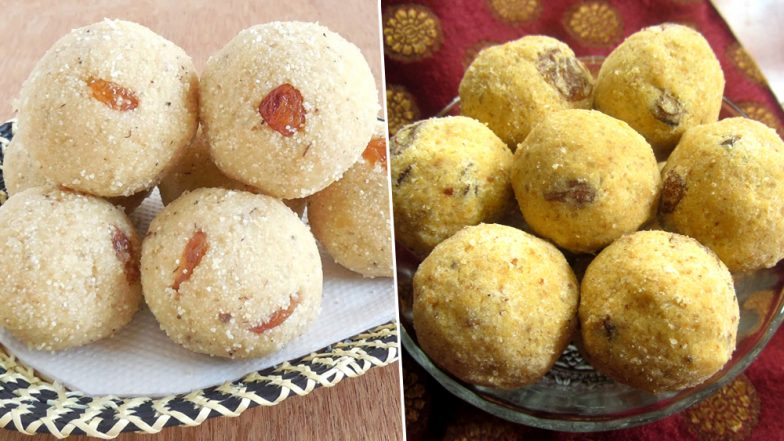 Ganeshotsav Recipe of Day 8: How to Make Ladoos For Prasad During Ganpati Festival (Watch Videos)