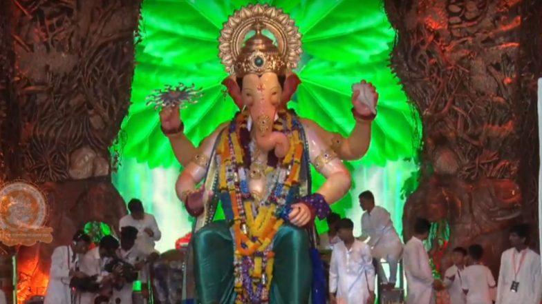 Lalbaugcha Raja 2018 LIVE Mukh Darshan From Mumbai Day 3: Watch Live Telecast & Streaming of Lalbaugcha Raja Ganpati Pandal Aarti