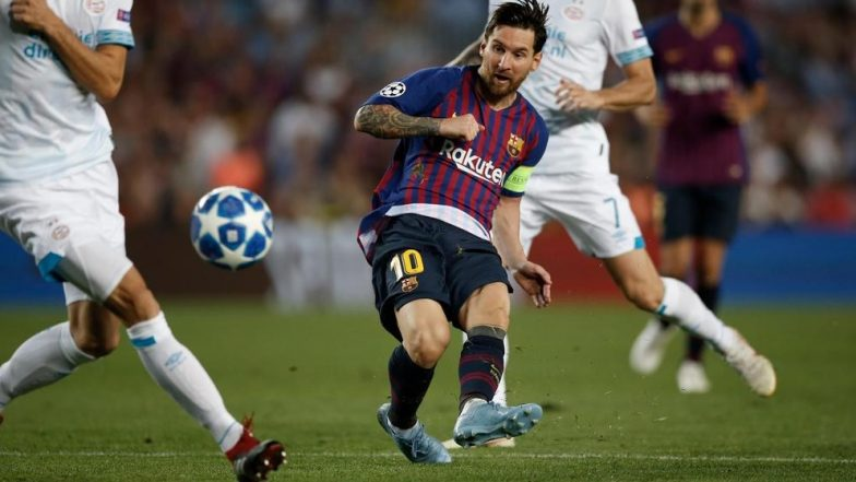 PSV coach Van Bommel admits making Messi request of his players