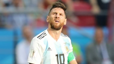 Lionel Messi to Miss Argentina Friendlies Match Against Iraq, Brazil