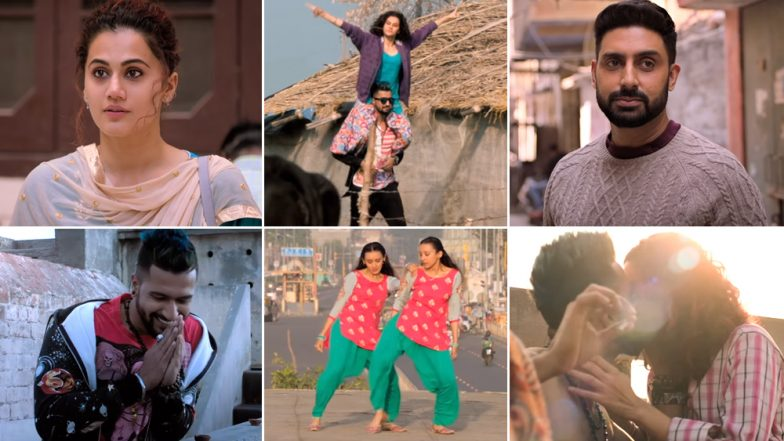 Manmarziyaan Song Grey Wala Shade:  Different Shades of Vicky Kaushal-Taapsee Pannu-Abhishek Bachchan's Love Story Depicted Perfectly Through This Number - Watch Video