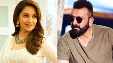 Sanjay Dutt and Madhuri Dixit Shot Together for Kalank! Check Out What Happened Between the Ex-Flames