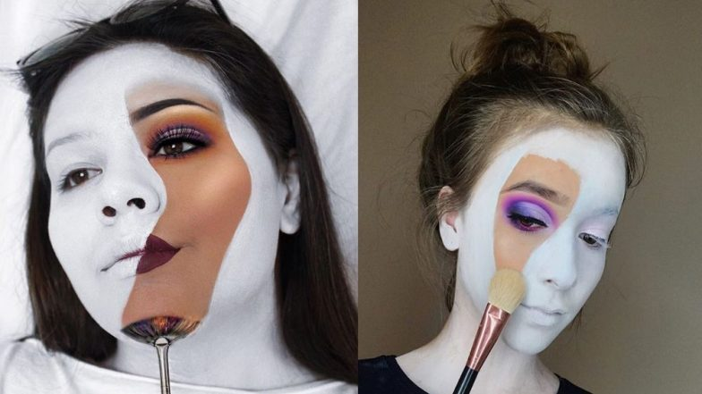 Blank Canvas: This New Instagram Beauty Trend Is Both Creative and Chic (View Pics)