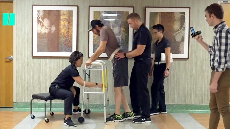 US Man Moves His Paralysed Legs With His Own Thoughts Thanks To An Implant In His Spine