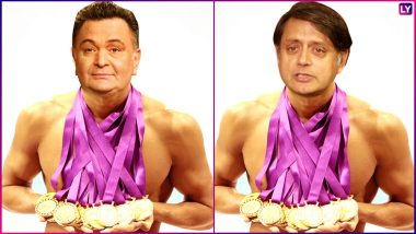 Twitterati is Awarding Olympic Medals to Indian Celebrities! From Rishi Kapoor to Shashi Tharoor; Check Who Wins Gold in Our List