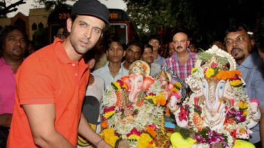 Ganesh Chaturthi 2018 Song Of The Day: Hrithik Roshan's Energy In This Aarti Is Simply Infectious!