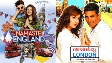 Arjun Kapoor-Parineeti Chopra's Namaste England Or Akshay Kumar-Katrina Kaif's Namastey London - Which Trailer Impressed You The Most? Vote Now
