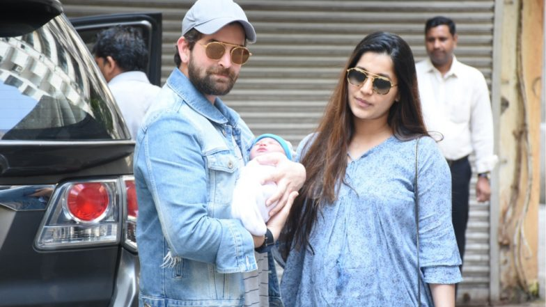 Neil Nitin Mukesh and Rukmini Sahay's Baby Girl, Nurvi's First Pictures Out! (View Pics)