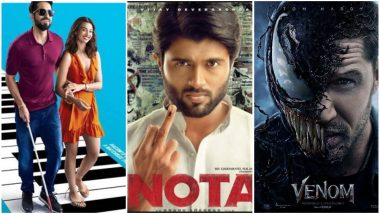 Vijay Deverakonda's NOTA to Clash With Tom Hardy's Venom and Ayushmann Khurrana's Andhadhun on October 5
