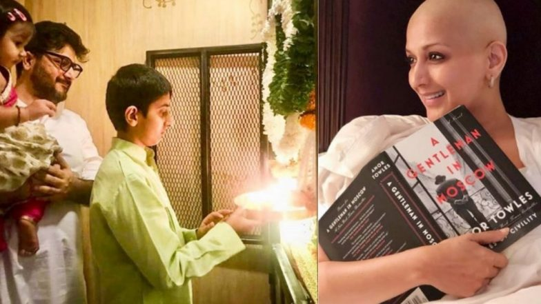 Ganesh Chaturthi 2018: Sonali Bendre Misses Celebrating the Festival With Her Family – View Pic