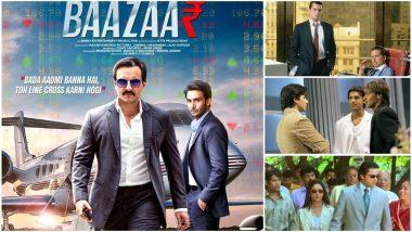 Baazaar Trailer: Ajay Devgn's Shikhar, Charlie Sheen's Wall Street - 5 Movies Saif Ali Khan, Radhika Apte and Rohan Mehra's Film Reminded Us Of