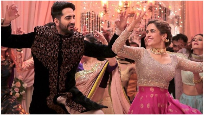 Badhaai Ho Song Morni Banke: Ayushmann Khurrana and Sanya Malhotra Own The Moves in This Celebratory Punjabi Track - Watch Video