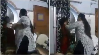 Viral Video of Woman Mercilessly Hitting Minor Girl Over Using Excess Tea Leaves Will Make Your Blood Boil