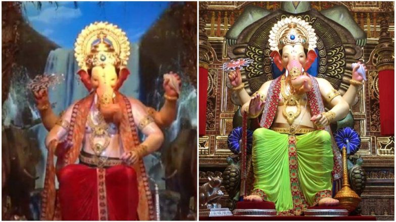 Lalbaugcha Raja's Looks From 2013 to 2018: View Pics of Mumbai's Most Popular Ganpati Pandal Over the Years
