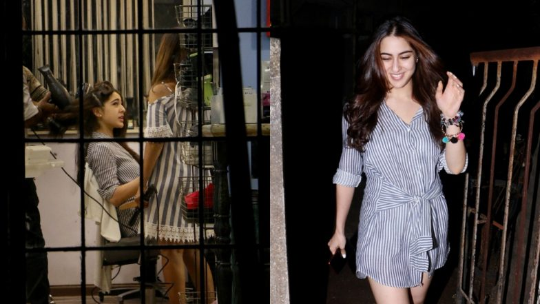 Sara Ali Khan's Reaction While Getting a Makeover and After It's Done Is What All of Us Go Through – View Pics