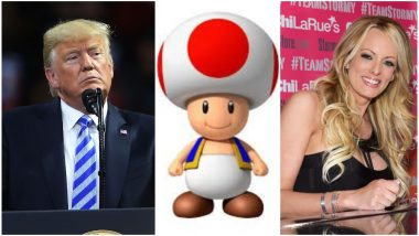 Is Donald Trump's D*ck Like a Toadstool? Pornstar Stormy Daniels Describes It Like Mushroom From Mario Kart