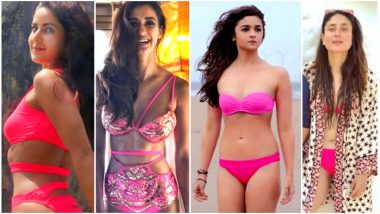 When Kareena Kapoor Khan, Disha Patani, Katrina Kaif and Alia Bhatt sizzled in a pink beachwear